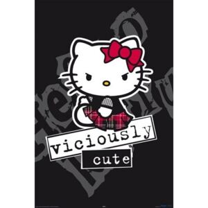 Poster - Hello Kitty viciously cute