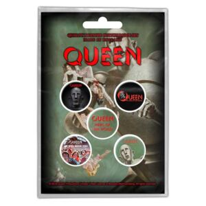 Set insigne Queen - News of the World