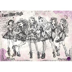 Fototapet: Mattel Ever After High (1) - 184x254 cm
