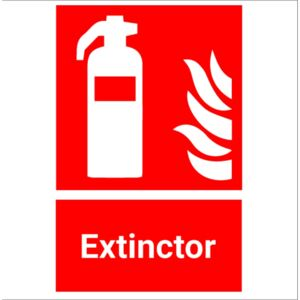 Sticker indicator Extinctor 2