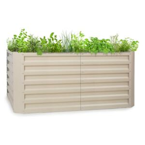 Blumfeldt Blum High Grow Straight, pat ridicat, 120 x 60 x 60 cm, 432 litri, oțel