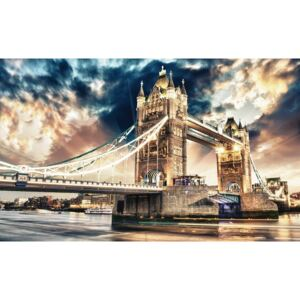 Fototapet: Tower Bridge (3) - 104x152,5 cm