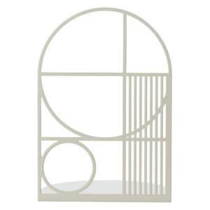 OUTLINE BOOKEND Gri Deschis - Gri deschis Inaltime(20 cm) x Latime(14 cm) x Diametru(14 cm)