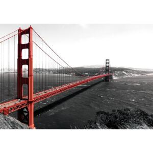 Fototapet: Golden Gate Bridge (1) - 104x152,5 cm
