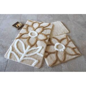 Set 3 covorase baie, Alessia Home, Naturel - Beige