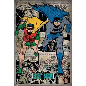 Poster - Batman a Robin (Retro)