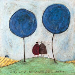 Tablou canvas - Sam Toft, The Day I Met You