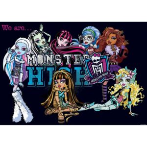Fototapet: Monster High (5) - 184x254 cm