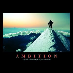 Poster - Ambition (1)