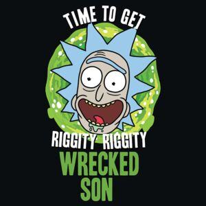 Rick and Morty - Wrecked Son Poster, (61 x 91,5 cm)