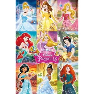 Disney Princess - Collage Poster, (61 x 91,5 cm)