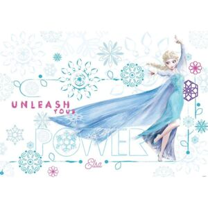 Fototapet: Frozen Unleash your Power - 184x254 cm