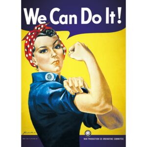 We can do it ! Poster, (61 x 91,5 cm)