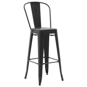 Scaun de bar Packard Black