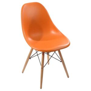 Scaun dining Frazer Orange