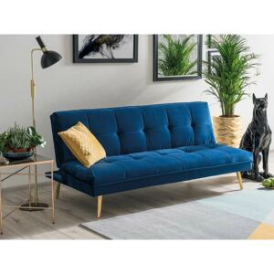 Canapea MORITZ Catifea NAVY BLUE TAP.141/GOLD