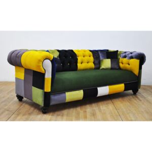 Sofa Chesterfield Patchwork - Colour Palette