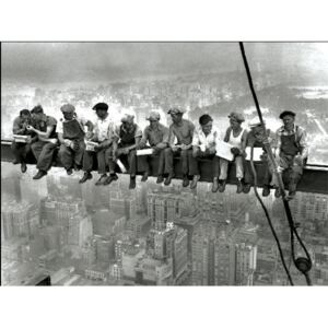 New York - Lunch on a skyscraper Reproducere, ALAN SCHEIN PHOTOGRAPHY, (120 x 90 cm)