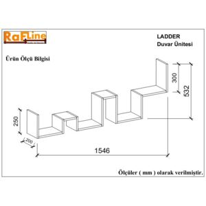 Raft de Perete - Ladder - Nuc
