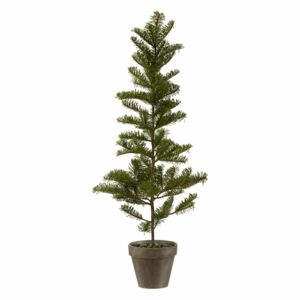 Bradut artificial in ghiveci, X mas TREE, 75X14 cm