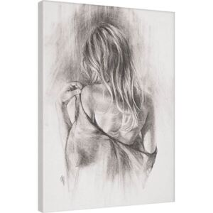Tablou Canvas T. Good - Nocturnes in Charcoal II, (60 x 80 cm)