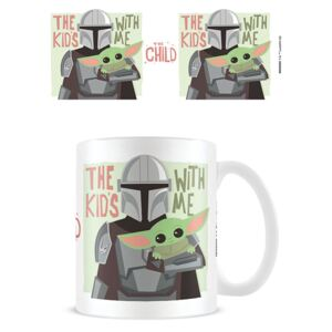 Cană Star Wars: The Mandalorian - The Kids With Me