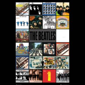 The Beatles - Albums Poster, (61 x 91,5 cm)