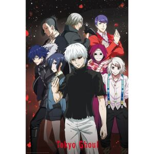 Poster Tokyo Ghoul - Group, (61 x 91.5 cm)