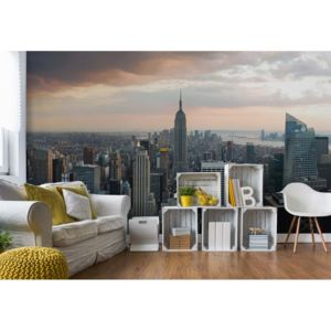 Fototapet GLIX - New York City Empire State Building + adeziv GRATUIT Tapet nețesute - 250x104 cm