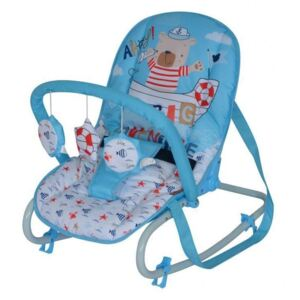 Lorelli - Fotoliu balansoar Top Relax , Blue Sailor