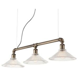 Pendul 3xE27 bronz Astrid Ideal Lux 140018