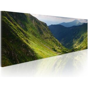 Tablou Bimago - Canvas print - In the valley of the mountain 120x40 cm
