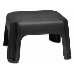 Scaun Addis Step Stool Black, negru