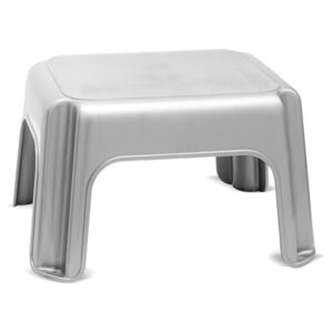 Scaun Addis Step Stool Metallic, gri