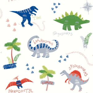 Arthouse Tapet - Dino Doodles Dino Doodles Multi