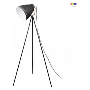 Lampadar negru din metal 145 cm Mingle Present Time