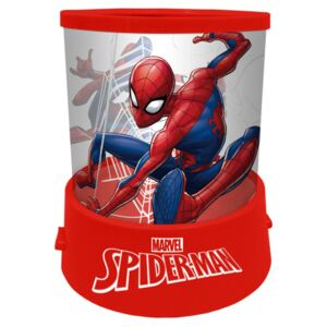 Proiector LED Spiderman SunCity, 11 x 12 cm, 3 ani+