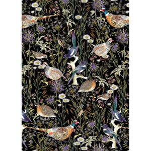 Woodland Edge Birds Reproducere, Jacqueline Colley