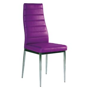 Scaun bucatarie si dining H261 VIOLET/CROM