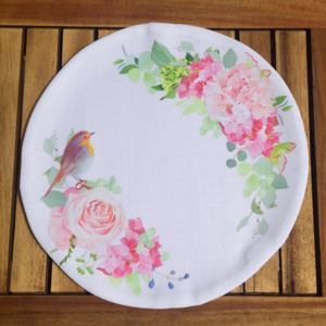 Napron American Service Rose with Bird