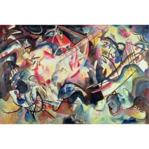 Composition No. 6, 1913 Reproducere, Wassily Kandinsky