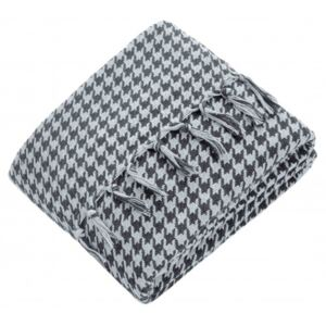 Patura Lux Throw Cozy Lacivert Gri PP1180