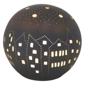 Lampa BALL CITY, portelan, 16 x 16 x 16 cm