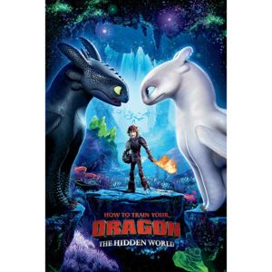 How To Train Your Dragon 3 - One Sheet Poster, (61 x 91,5 cm)