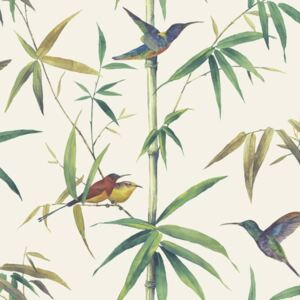Noordwand Tapet Kolibri and Bamboo, ecru G56412