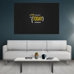 Tablou canvas Motivational Your Future