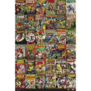Marvel - Classic Cover Poster, (61 x 91,5 cm)