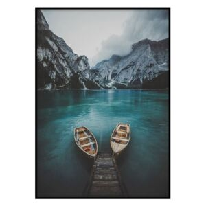 Poster DecoKing Boat Trip, 50 x 40 cm