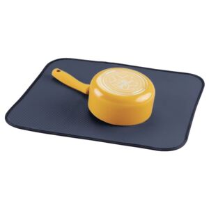 Suport pentru scurgere InterDesign iDry Kitchen Blue, 18x16 cm