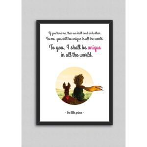 Tablou North Carolina Scandinavian Home Decors Little Prince Quote V3, 33 x 43 cm